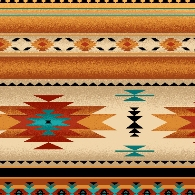 Native stripe design
