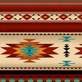 native stripe fabric