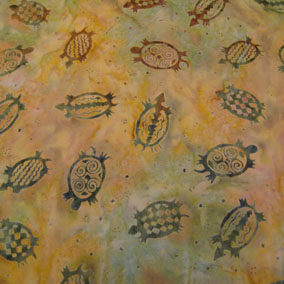 native american batik fabric