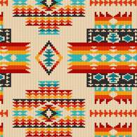 navajo bead designs. Native Beaded Pattern Black/ Out Of Print, Rare Navajo Bead Designs W